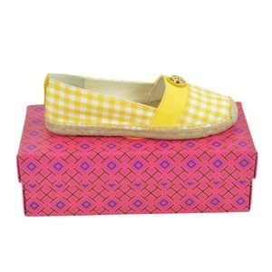 Tory Burch   Yellow Zest Beacher Espadrilles